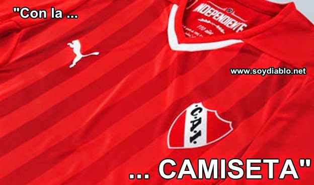 cargadas de independiente a racing