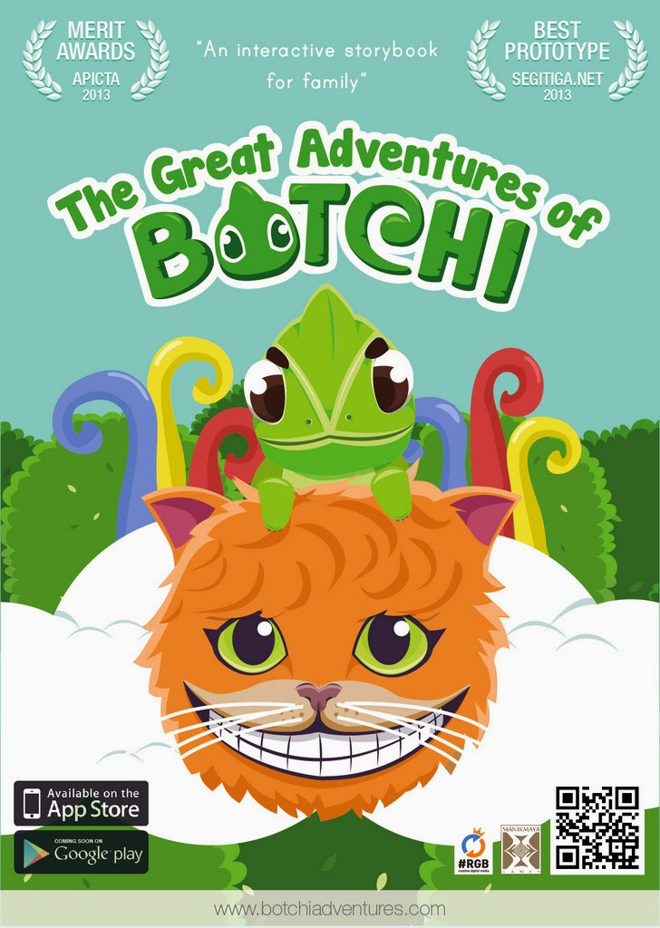 The Great Adventures of Botchi - Petualangan Botchi