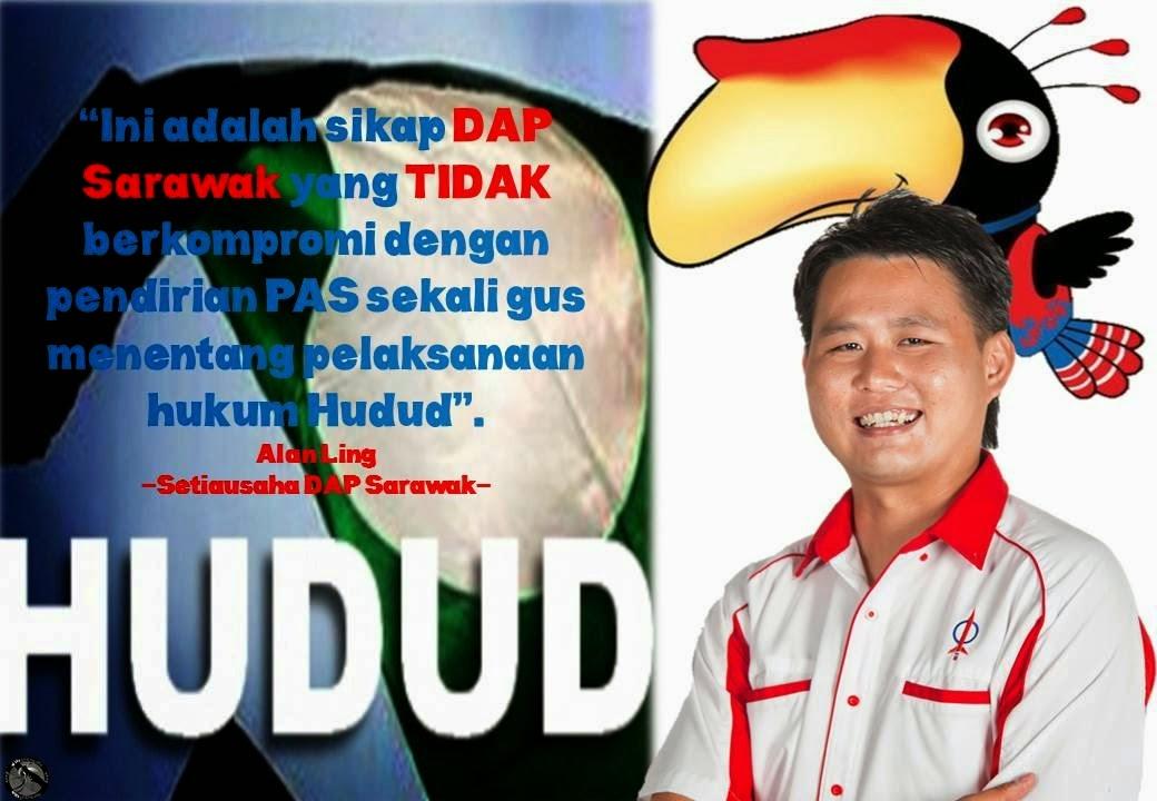DAP Sarawak sudah setuju dengan hudud