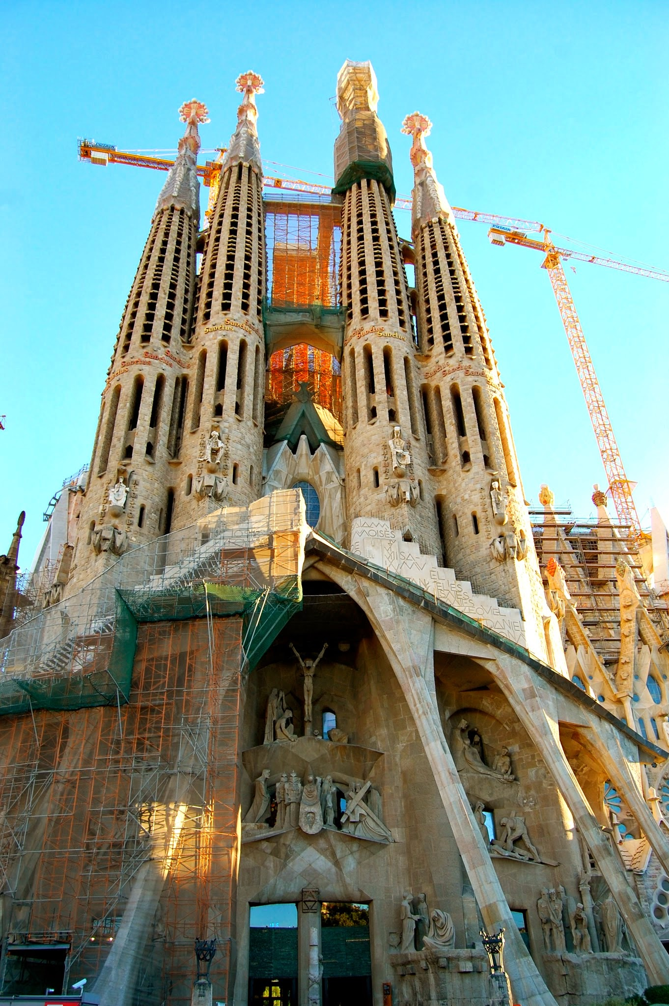 Repairs of the Passion Facade of the Sagrada Familia
