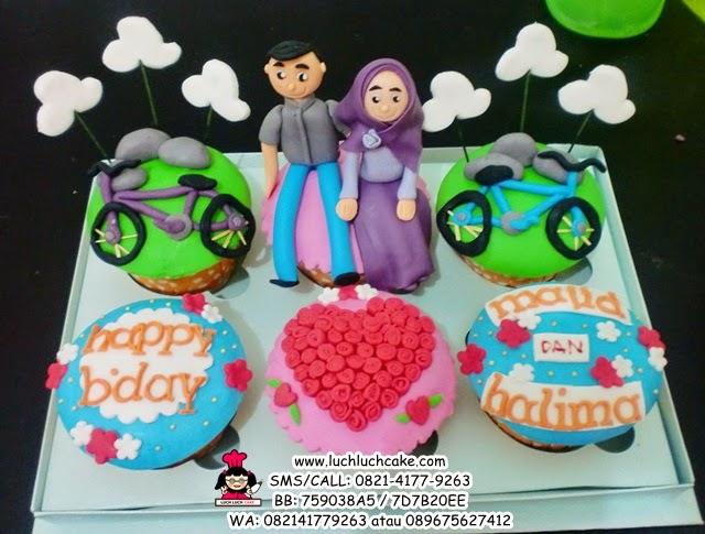 Cupcake Untuk Ayah dan Ibu Daerah Surabaya - Sidoarjo