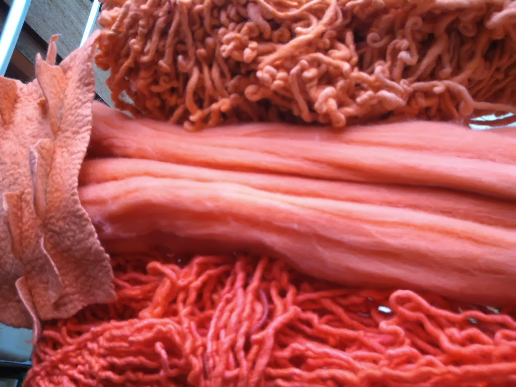 tingimento com lã de ovelha
