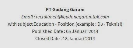 info terbaru lowongan kerja januari jawa timur 2014