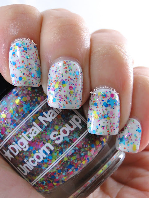 Digital Nails Unicorn Soup