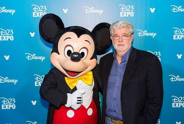 george lucas d23 honour