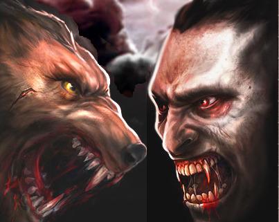 Anime Werewolf And Vampire Vampire vs Werewolf Anime