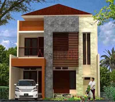 gambar rumah 2 lantai 4 kamar tidur desain rumah
