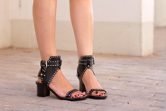 Blogger adicta a los zapatos con sandalias Isabel Marant