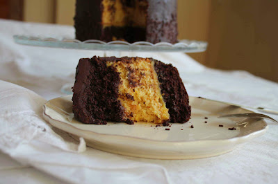 Receta Layer cake de chocolate_Receta layer cake de naranja_receta orange curd