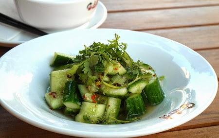Scharfer Gurkensalat im Tian Fu Berliner Straße  - Chinesisches Restaurant