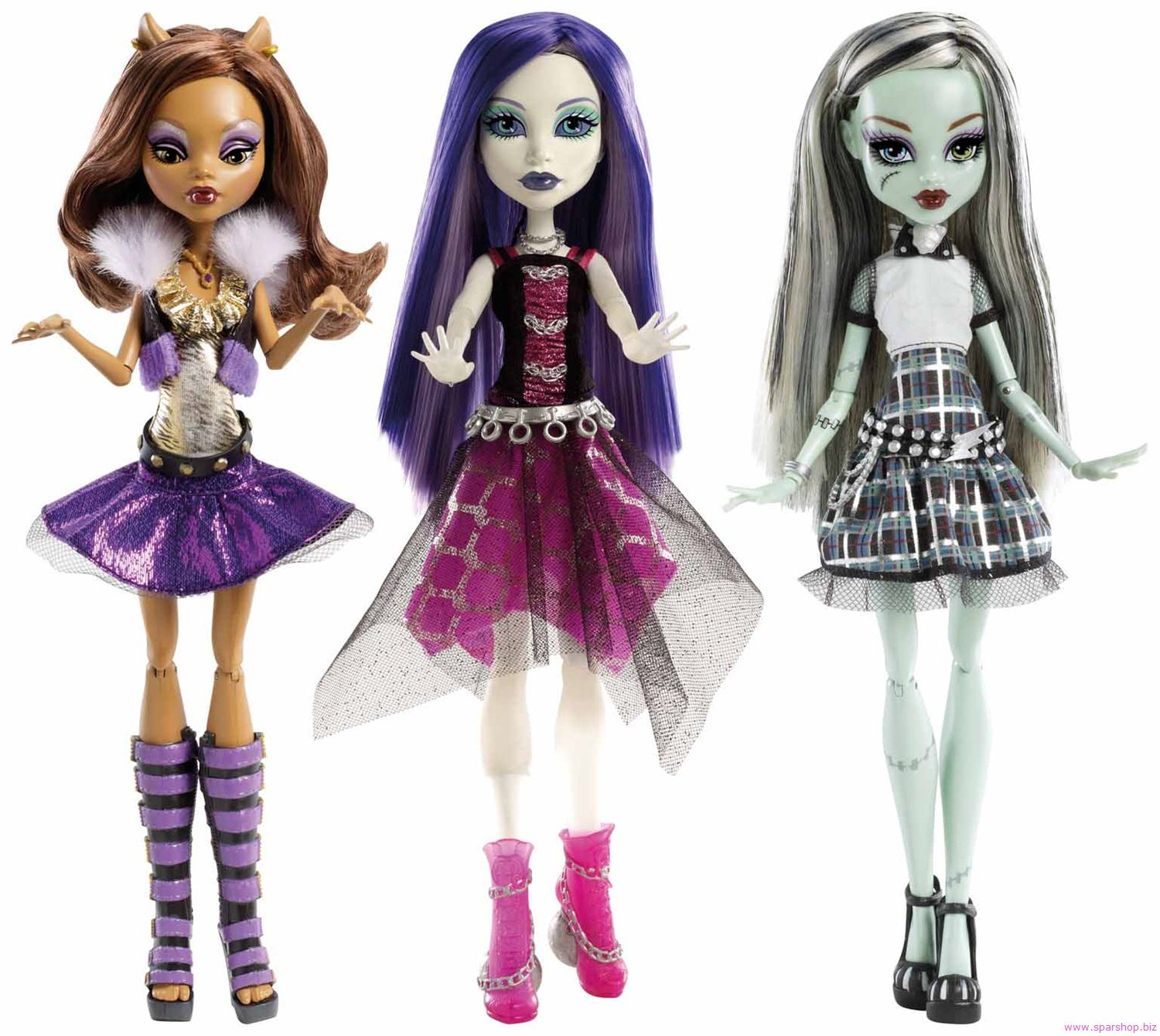 Las Monster High Son Unas Munecas Que Son Monstruos Son Unas Munecas