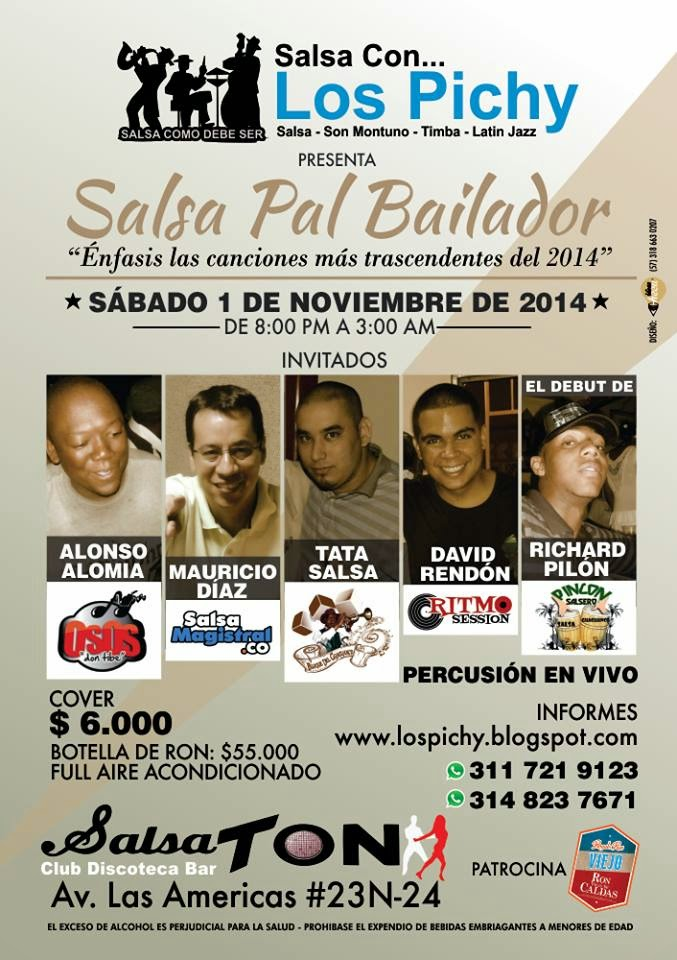 Ultimo Evento De Salsa Co Los Pichy Del 2014