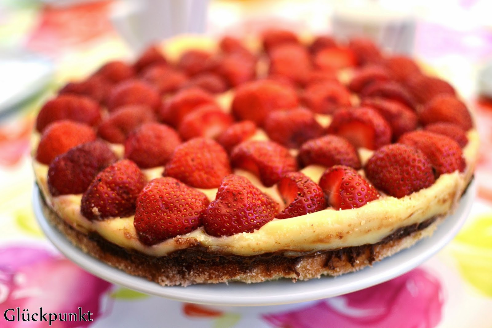Sommerkuchen Rezepte : Sommerkuchen rezept für einen dänischen erdbeerkuchen glückpunkt.