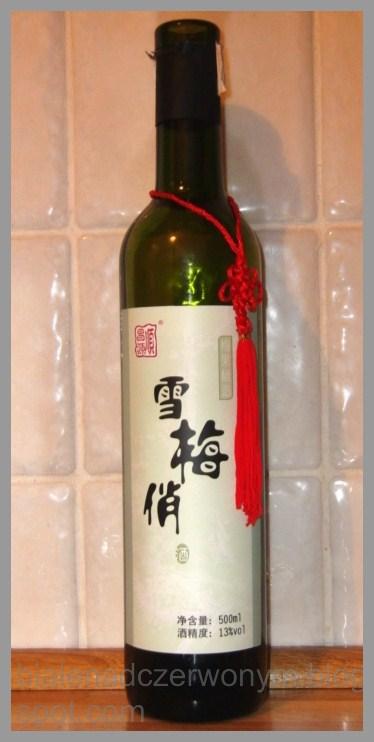 Białe Nad Czerwonym Chińskie Wino śliwkowe