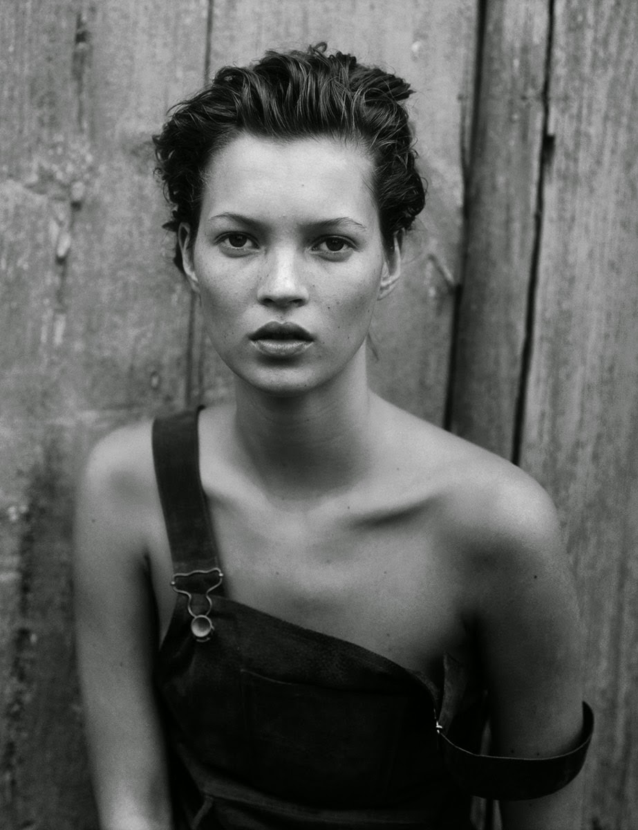 Kate Mossby Peter Lindbergh for Harper's Bazaar (December 1994) | Ses Rêveries