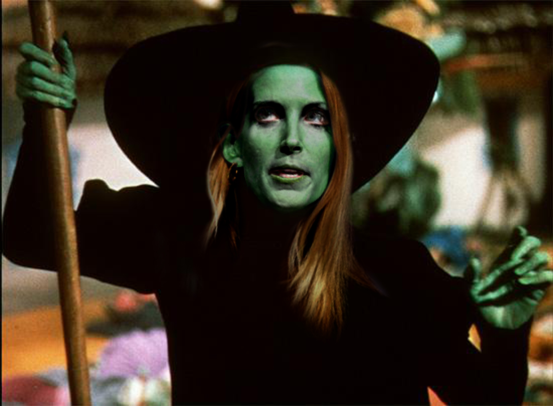 Image result for ann coulter witch