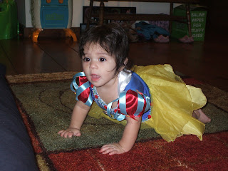 Arabella as Snow White