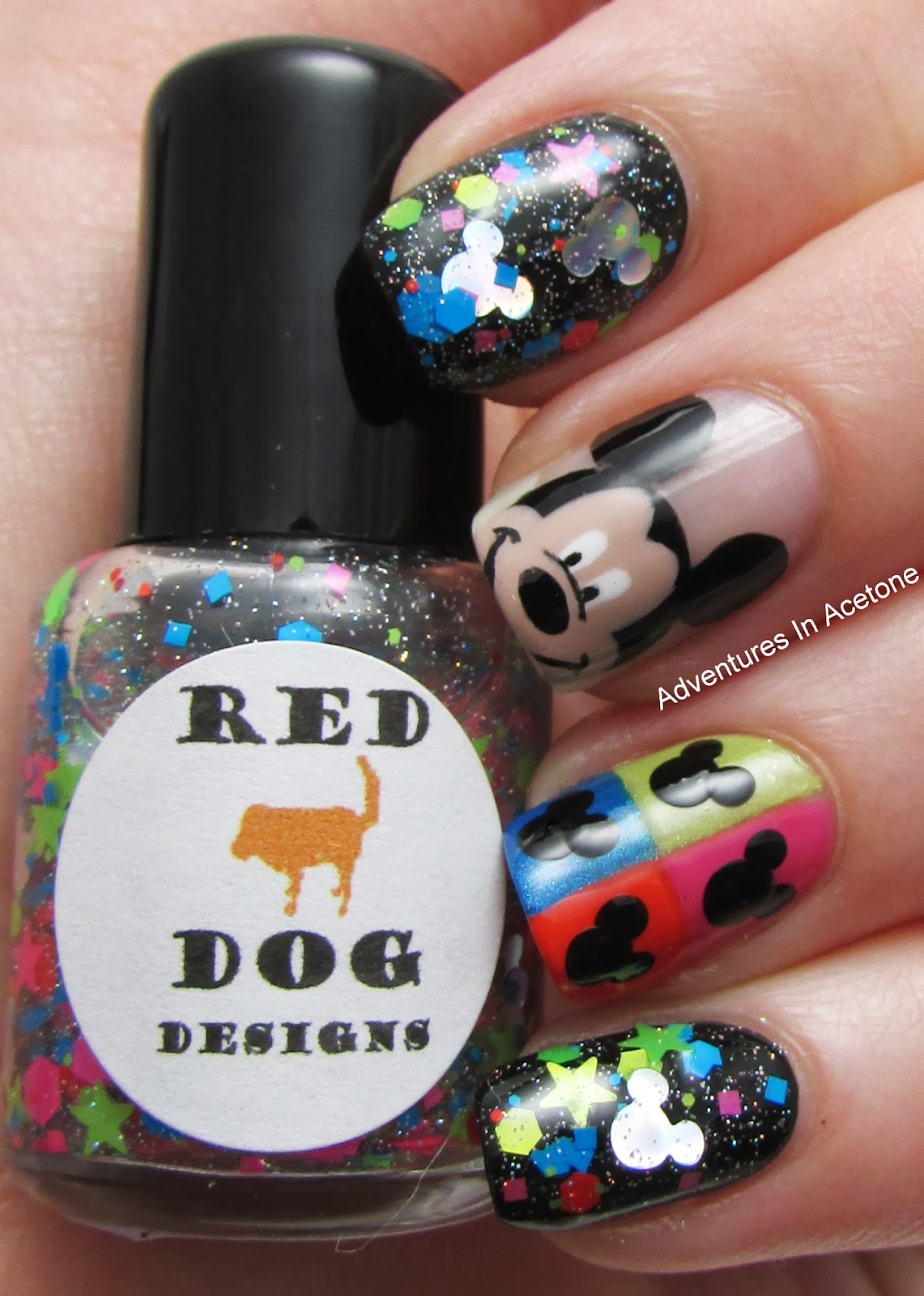 Red Dog Designs: The Mouse Collection! - Adventures In Acetone