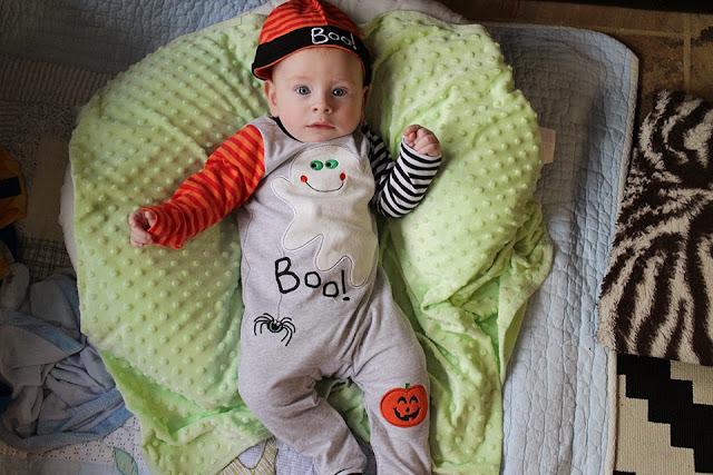 Baby Boy Archer HALLOWEEN!