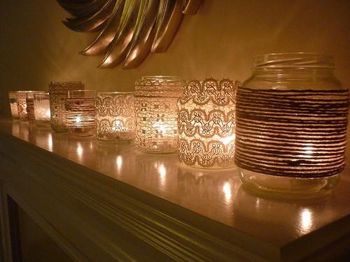 luci di natale col riciclo creativo - Decorazioni E Luci Natalizie