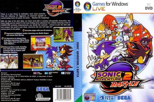 Download Game Pc Sonic Adventure 2 Battle Gratis
