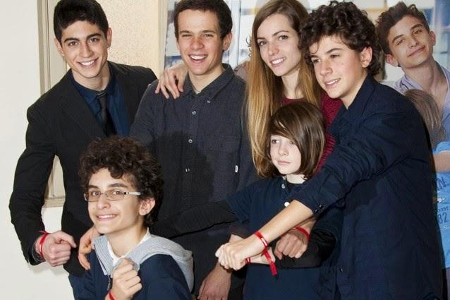 Elena Sofia Ricci e il cast dei Braccialetti Rossi ospiti al Festival di  Sanremo 2015