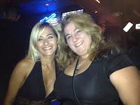 Claudia e Eu e claro...rs.