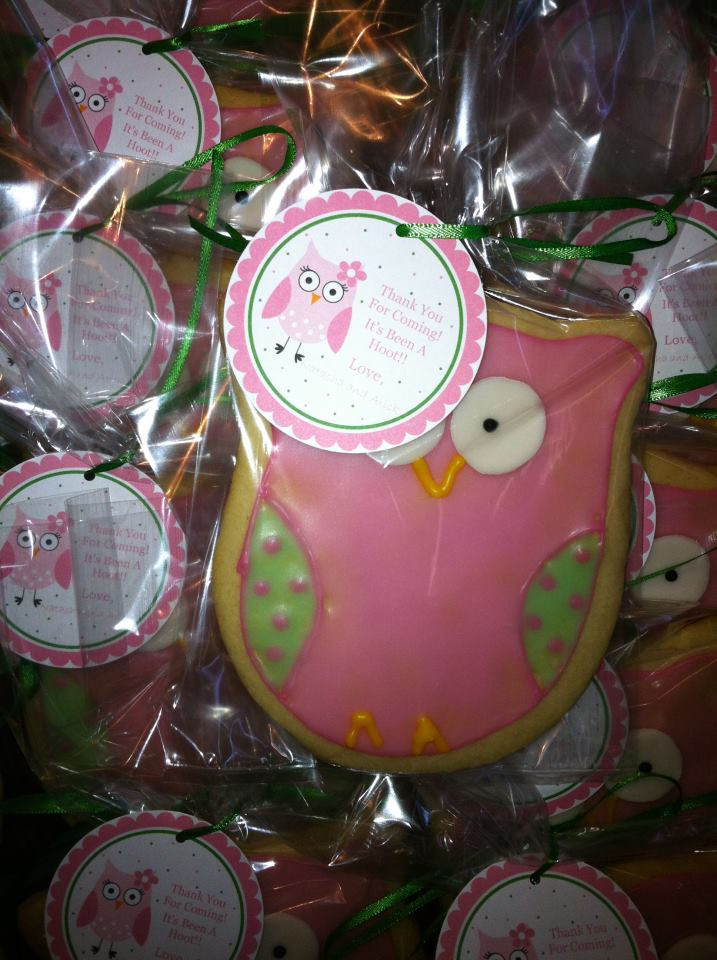 katherine 39 s confections owl baby shower favors