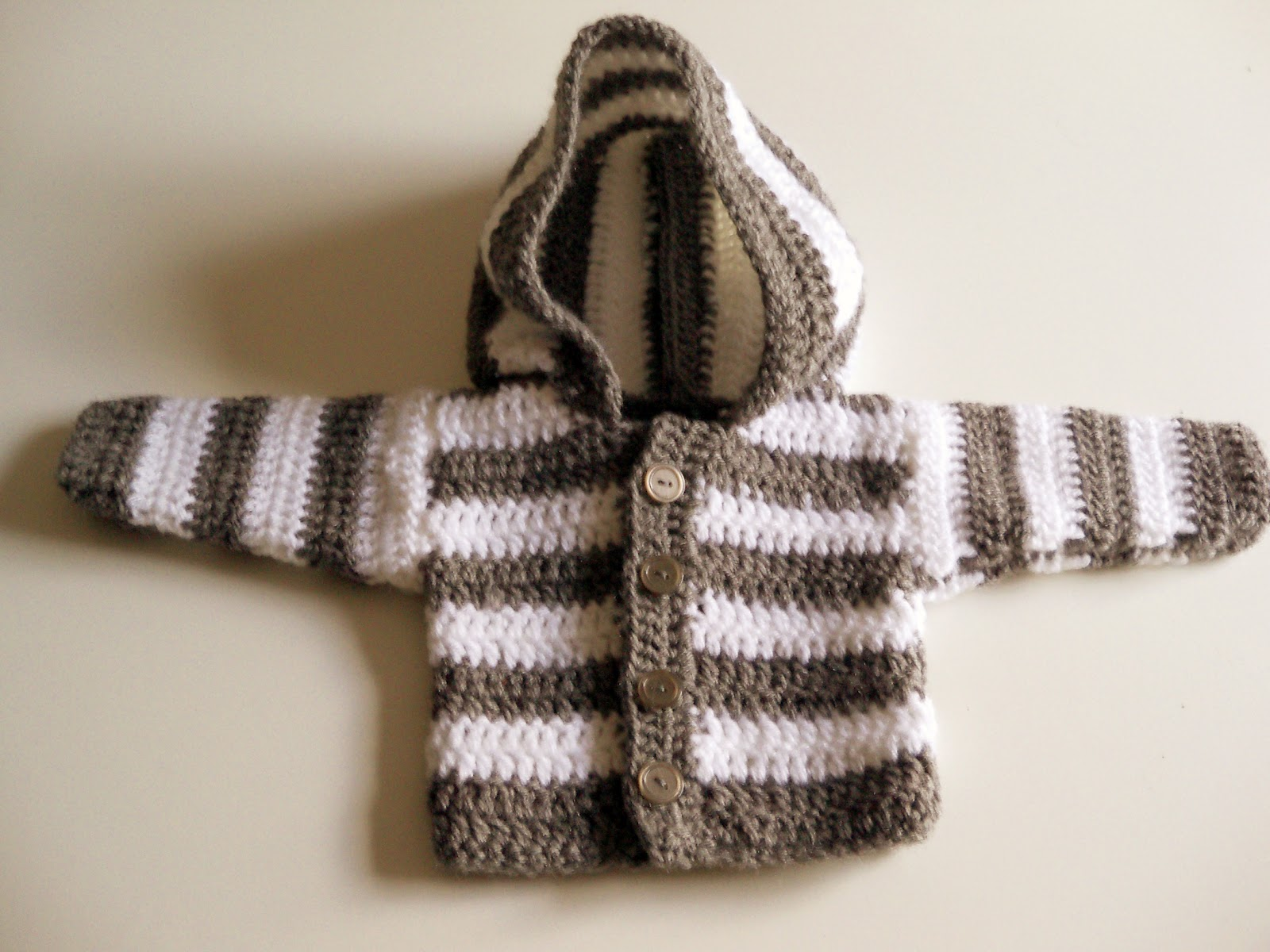 Crochet Baby Jacket Pattern : Baby Jacket Crochet Pattern Easy - White Polo Sweater