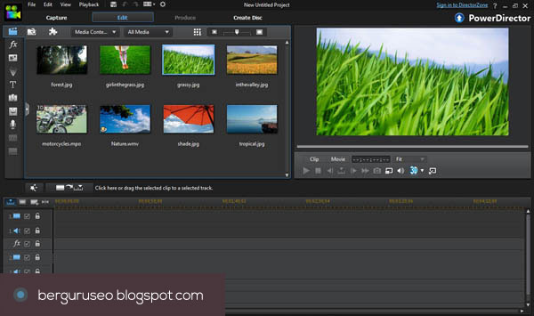 Aplikasi Edit Video CyberLink PowerDirector 12 Ultra