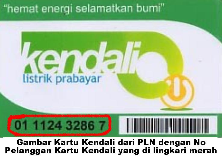 Kartu Kendali PLN | Cara Pembelian Pulsa Listrik Prabayar Online