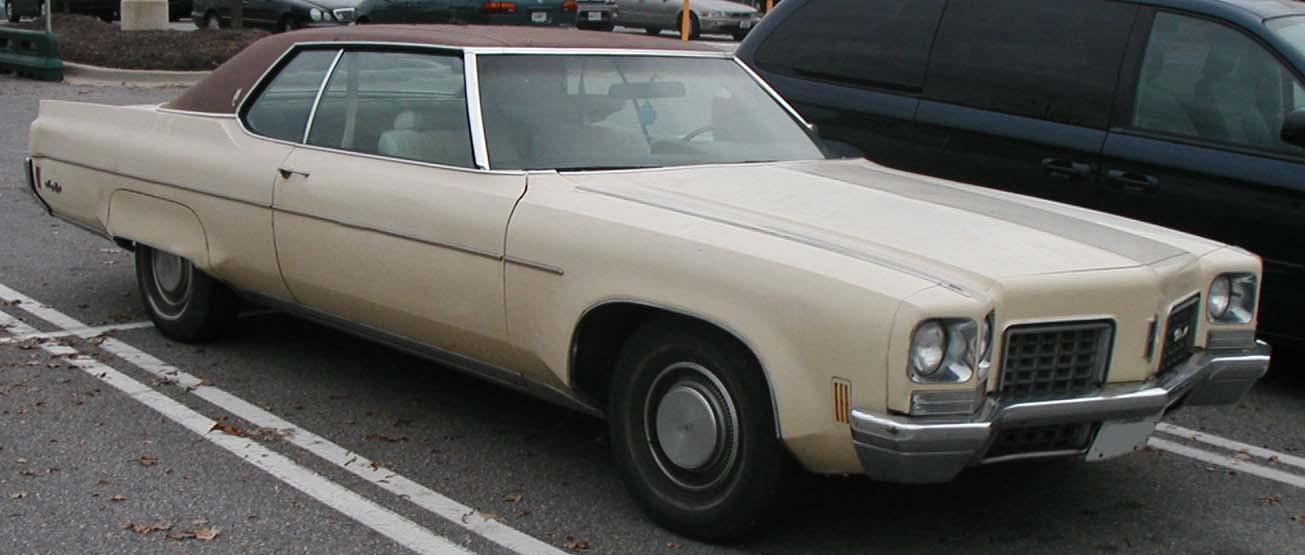 The Oldsmobile 98 1971