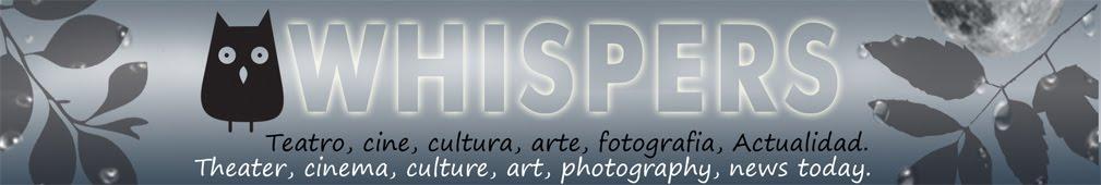 WHISPERS. Teatro, Fotografía, Libros, Lectura.