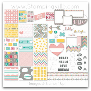 Stampin' Up! Hello There Digital Kit