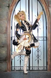 Vocaloid Rin Meltdown cosplay by Tasha