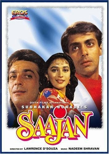Saajan 1991 Hindi DVDRip 720p 1.2GB