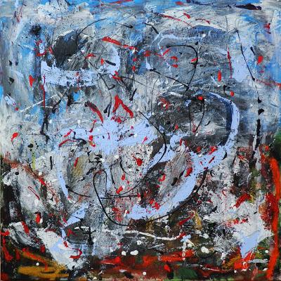 """Painting - title: """"Disequilibrium"""""""