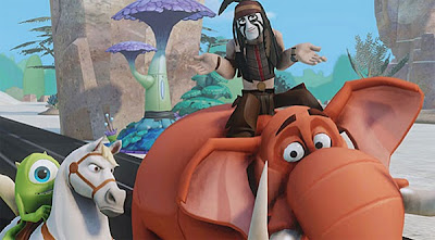 Disney Infinity Review Tonto Tantor Mike Samson