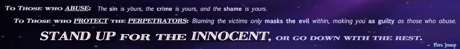 Stand up for the Innocent