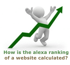 how is alexa ranking calculated