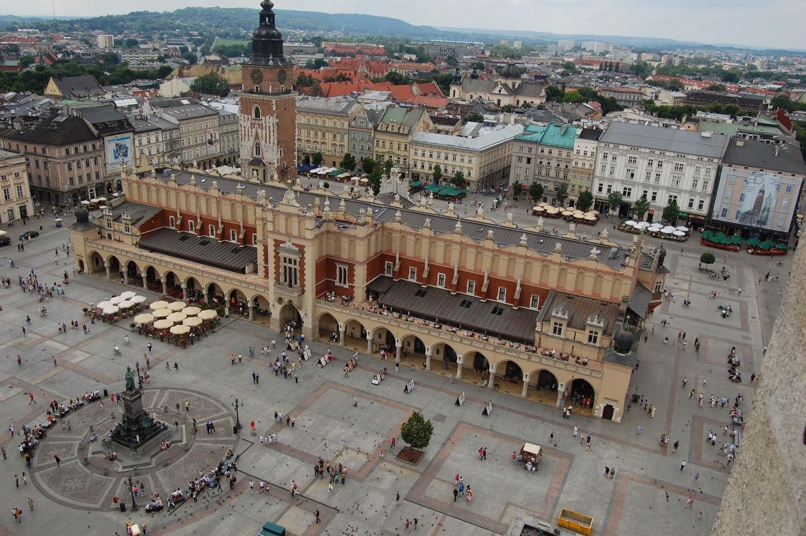 Plaza Mayor de Cracovia. Las plazas mas bonitas de Europa
