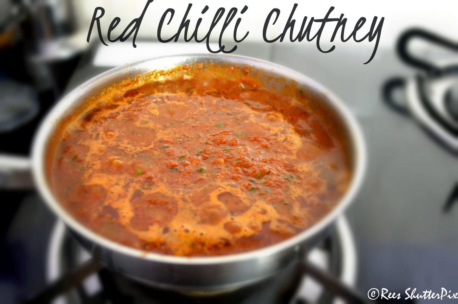 ... . In this chill morning, I wish to eat this spicy chutney with idli:P