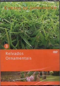 Curso de Relvados Ornamentais em DVD