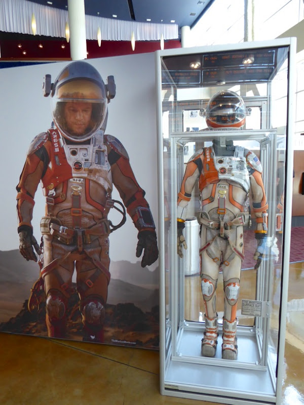 Matt Damon The Martian NASA spacesuit