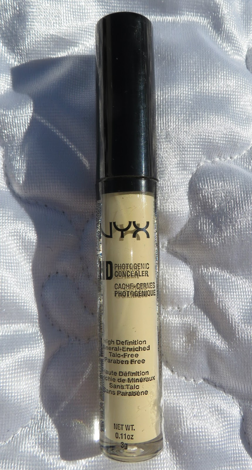 Nina 39 s bargain beauty nyx hd concealer wand review - Nyx concealer wand yellow ...
