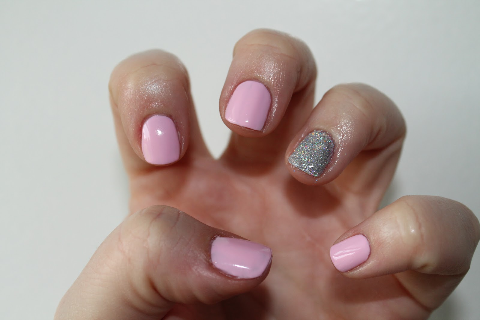 ManiMonday: Essie Awareness with Bling - At the Pink of Perfection