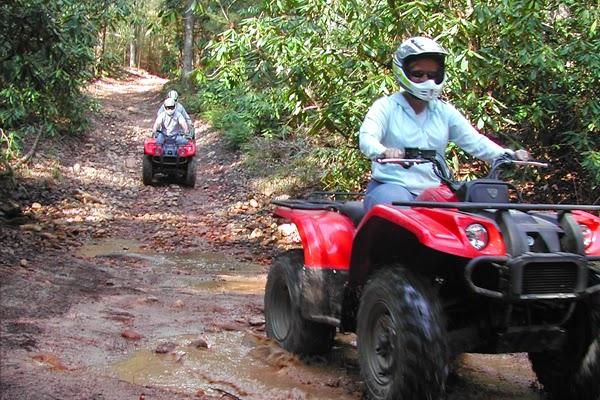 Enjoy the four-wheeling fun