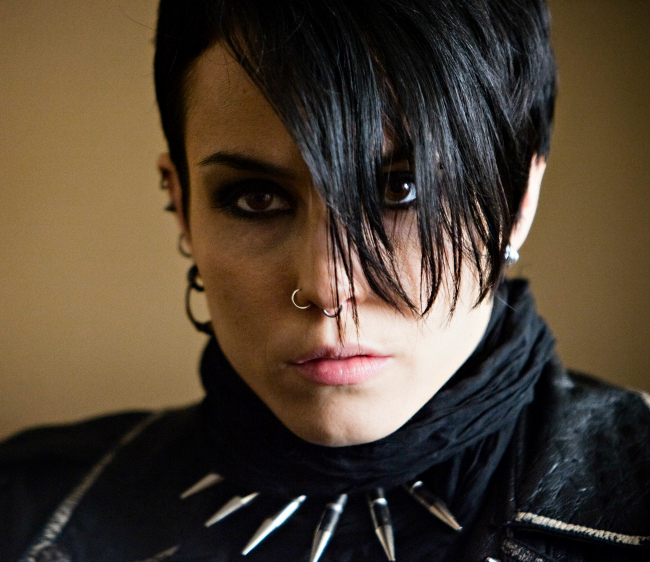 Lisbeth Salander in court