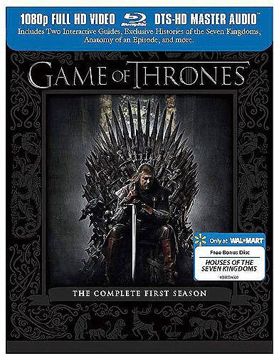 Game of Thrones Season 4 Blu-ray Covers