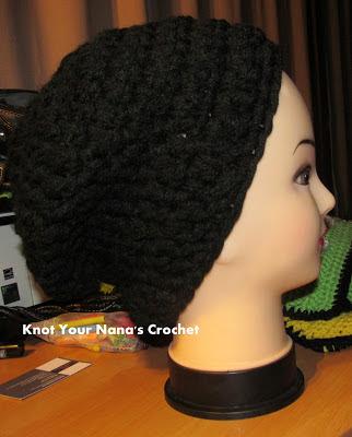 Slouch Crochet Mens
